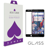 OnePlus 3T Tempered Glass Screen Protector FULL 3D Edge to Edge Coverage BLACK