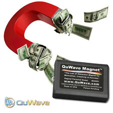 QuWave Law of Attraction Magnet QWM1B - Improves Success Happiness Wealth Health
