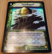 Turmkapsel 108/110 - Duel Masters DM01 - Very Rare HOLO - Deutsch - Mint