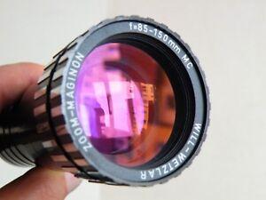 Projektionsobjektiv ZOOM MAGINON f=85-150mm MC WILL-WETZLAR Kindermann Germany!!