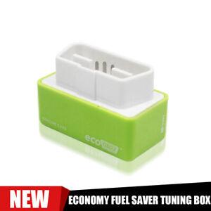 1x Eco OBD2 Benzine Economy Fuel Saver Tuning Box Chip Fit Petrol Car Gas Saving