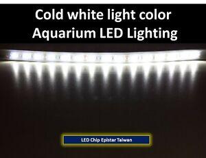 Aquarium lighting Cold white LED 30cm - 12inc / 60cm - 24inc / 90cm - 36inc