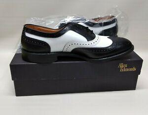 New in Box Allen Edmonds Broadstreet - Black & White Mens Shoes - Size 11 1/2 B