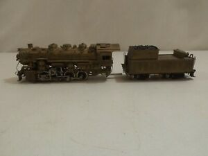 HO Tenshodo brass USRA 0-8-0 steam engine (lot 36)