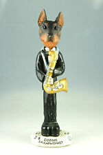 Saxaphone Doberman-See Interchangeable Breeds & Bodies @ Ebay Store