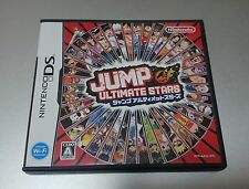 USED NINTENDO DS.JUMP Ultimate Stars. JAPAN IMPORT. NTSC. REGION FREE.