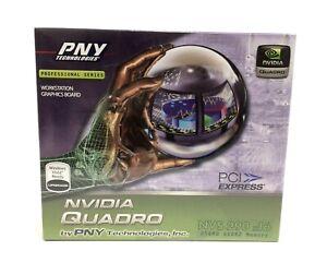 NEW PNY NVIDIA Quadro NVS 290 256MB VCQ290NVS-PCIEX16-PB DDR2 PCI-E Video Card