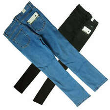 Unbranded Stonewashed Mid Rise Jeans for Men