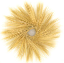 Haargummi Scrunchie Haarteil Haarverdichtung golden blond 21 24b