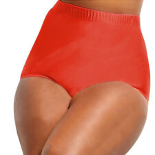 Womens Bikini Bottoms High Waist Swimwear Swimsuit Bathing Briefs Size XL-XXXXL