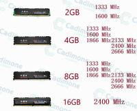 32GB 16GB 8GB 4GB DDR3 1600 1866 2133 2400 2666Mhz DDR4 For YRUIS DIMM RAM Lot U