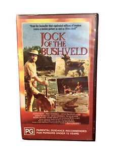 Jock Of The Bushveld VHS  Movie Retro Vintage Video Cassette