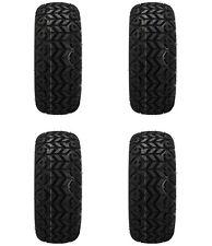 Set of 4 - 22x11-12 Black Trail All Terrain Golf Cart Tire-Free Shipping