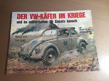WAFFEN-ARSENAL BAND 114 - DER VW-KAFER IM KRIEGE