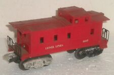Lionel Lines 1007 Caboose ~ Nice ~ Type B w/ Raised Center Board on the Catwalk