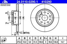 Bremsscheibe (2 Stück) - ATE 24.0110-0290.1