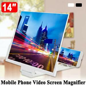 Handy Bildschirm 14 Inch 3D Lupe HD Faltet Verstärker Halterungen Für Smartphone