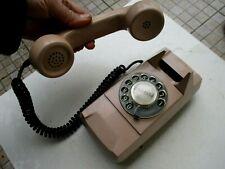 Vintage 1970s Beautiful Starlite Telephone Phone Functional Art Deco Type Brick