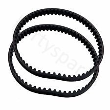 2 x Toothed Brush belt for Bissell ProHeat Hotshot Clearview Powerwash Cleaner