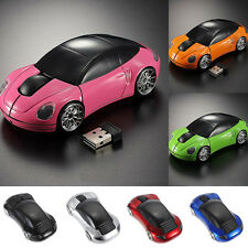 2,4 GHz 3D optische Funkmaus Mäuse Auto Form 1000DPI USB Receiver for PC Teil