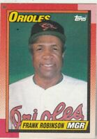 FREE SHIPPING-MINT-1990 Topps #381 Frank Robinson Orioles PLUS BONUS CARDS
