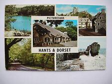Portland Bill, Corfe Castle, New Forest, Cat & Fiddle etc - 1967.