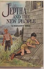 Jeptha and the New People by Marguerite Vance 1960 1st Ed. Hardcover