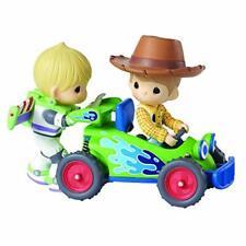 Disney Precious Moments 161101 Woody & Buzz LED Musical Figurine