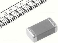 50 SMD Kondensatoren, 100nF, 50V, Bauform 0805, 10% Toleranz, Keramikkondensator