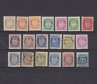 NORWAY 1910-29, Sc# 74-95, CV $49, part set, MH/Used