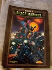 Warhmmer 40K - Codex Space Marines. SOLD AS SEEN.  WELL USED ITEM