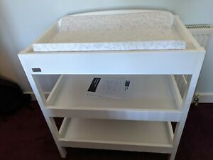 East Coast Clara Dresser (White) Changing station COLLECTION ONLY B90