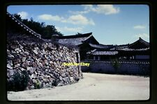 Korea, Walled Compound in 1970's, Original Photo Slide aa 2-22b