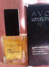 Avon Nailwear Pro Golden Dream Nail Varnish Limited Edition Rare & Discontinued