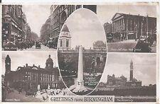 Collectable Birmingham Inter-War English Postcards (1918-39)