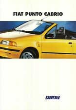 Prospekt Fiat PUNTO Cabrio 1994