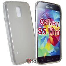 Cover Custodia Per SAMSUNG Galaxy S5 Mini G800F Trasparente SILICONE