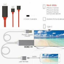 USB To HDMI 1080P HD Cable TV Out Lead For Samsung Galaxy/ Phones LG LS770