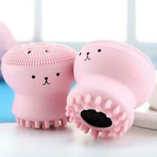Silicone Mini Facial Cleaning Brush Face Skin Washing Scrub Cleanser Massager