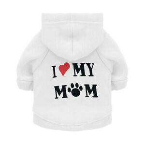 Puppy Dog Hoodies Warm Sweatshirt Pet Clothes Jackets For Small Dogs Chihuahua