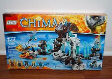 (NEW SEALED) LEGO LEGENDS OF CHIMA 70226 MAMMOTH'S FROZEN STRONGHOLD KIDS TOYS