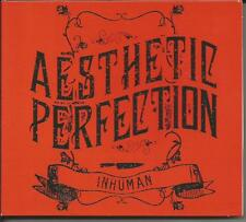 Aesthetic Perfection - Inhuman CD Limited Edition 438 of 666