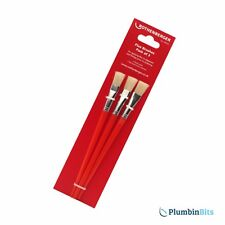 Rothenberger Plumbers Flux Paste Brush 8.0004 Pack of 3 Brushes