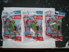 FISHER PRICE, PLAYSCHOOL HEROES, TRANSFORMERS RESCUE BOTS  (  3 UNOPENED    )