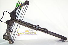 Parker Black Hawk High Performance Crossbow Package- Illuminated Reticle
