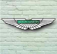 Aston MARTIN 700mm Auto Badge Logo Garage Muro Firmare La Placca vantage vanquish db9