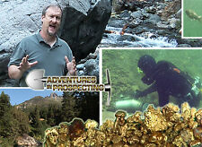 HOW TO READ A RIVER FOR PLACER GOLD Deposits DVD new