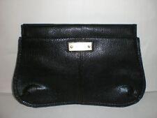 AUTHENTIC CHLOE SNAKE PRINT BLACK MAGNETIC MAKEUP BAG
