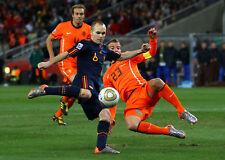 Spain's Iniesta Winning Goal 2010World Cup 8x10 Photo
