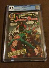 Superman's Pal Jimmy Olsen 134 CGC 9.0 OW/W 1st Appearance Darkseid, Kirby Adams